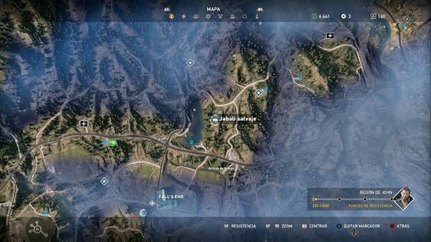 Far Cry 5, Animales, Jabalí salvaje