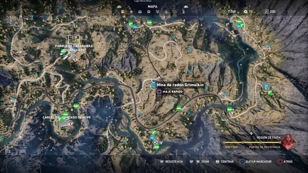 Far Cry 5, Mina grimalkin, Silencio se rueda, Atuendo Omega