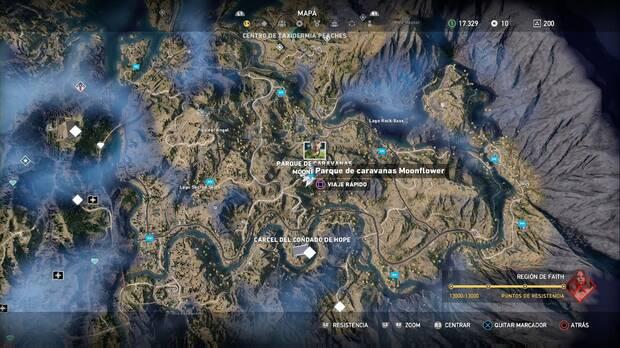 Far Cry 5, Misiones principales, Especialistas, Sharky, Región de Faith