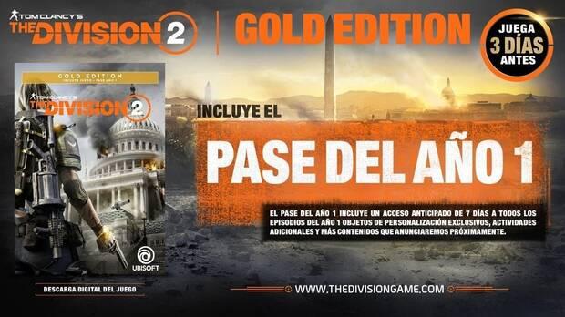 The Division 2: Lanzamiento, Precio, Ediciones y Gameplay Final Imagen 3