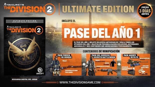 The Division 2: Lanzamiento, Precio, Ediciones y Gameplay Final Imagen 4