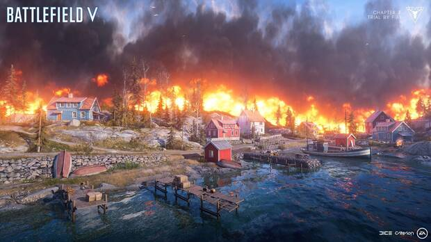 Battlefield 5: Primer tráiler de Firestorm, el Battle Royale de Battlefield Imagen 2