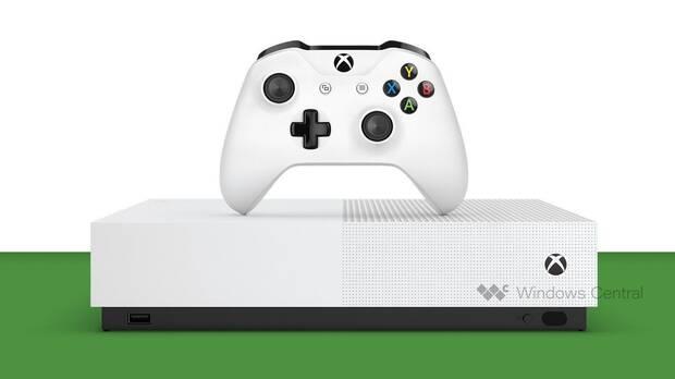 Filtración: Así será la Xbox One S sin lector de discos Imagen 2