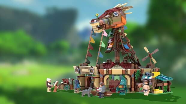 Zelda: Breath of the Wild y LEGO se fusionan en esta genial figura Imagen 2