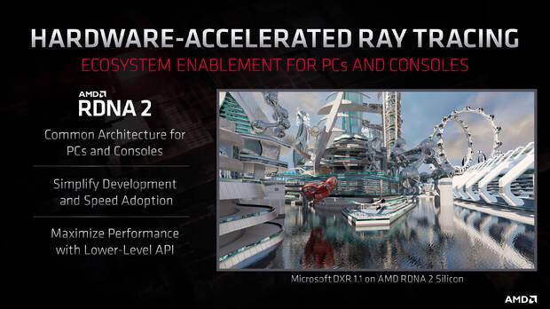 Primera demo técnica de las GPU RDNA 2 con DirectX 12 Ultimate, el futuro de Xbox Series X Imagen 2