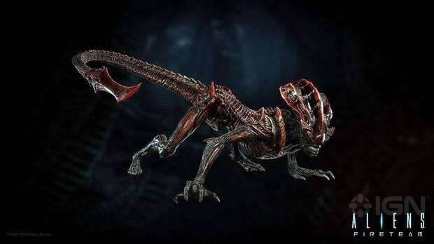 Xenomorfo prowler en Aliens: Fireteam