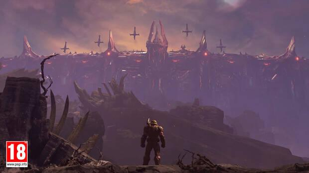 Imagen del teaser de DOOM Eternal: The Ancient Gods Parte 2.
