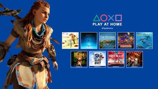 Play at Home Sony juegos gratis
