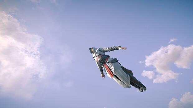 Leap of Faith in Assassin's Creed Valhalla with the Alta outfit