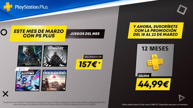 Get PS Plus with a 25% discount on the PS Store and take advantage of its advantages