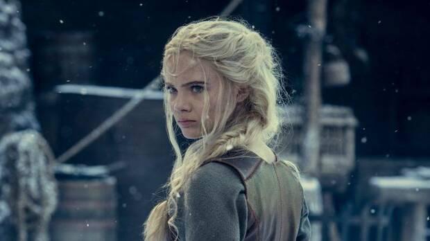 Ciri en la segunda temporada de The Witcher de Netflix.