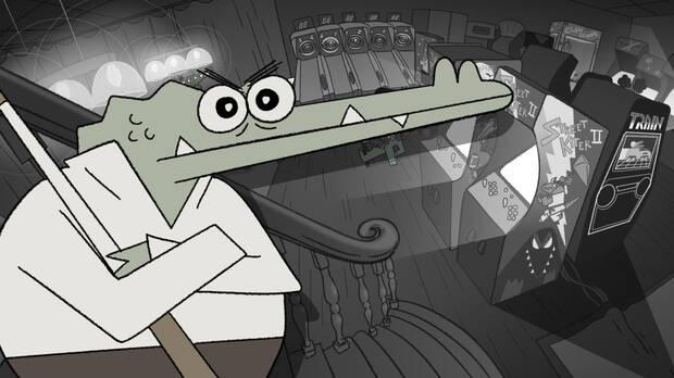 Capture of Later Alligator.