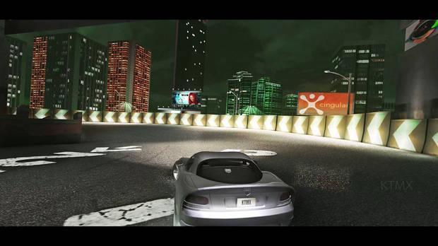 Captura de Need for Speed Underground 2 con ray tracing.