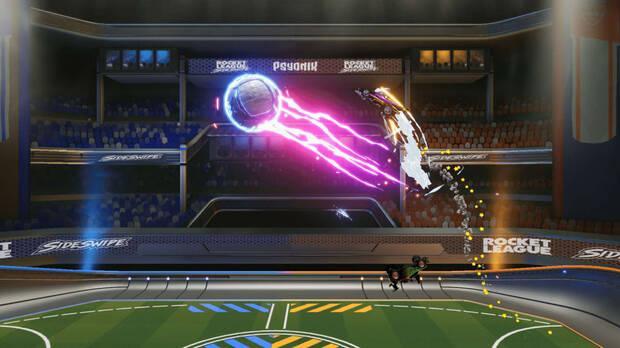 Captura de Rocket League Sideswipe.