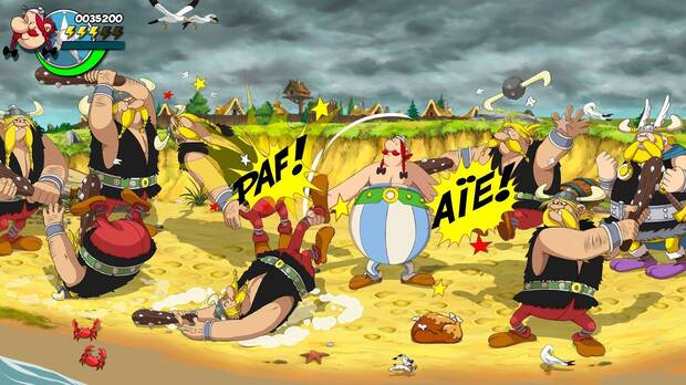 Captura de Asterix & Obelix: Slap Them All.