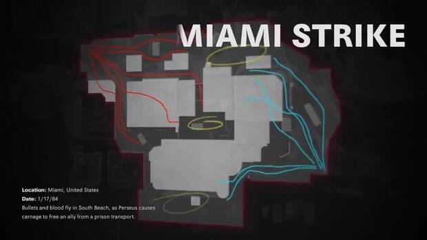 Black Ops Cold War mapa Miami diurno