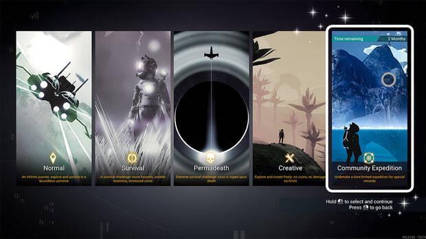 Expediciones, el nuevo modo de juego de No Man's Sky.