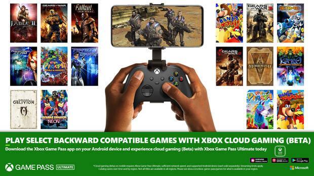 16 juegos retrocompatibles llegan al  Xbox Game Pass.