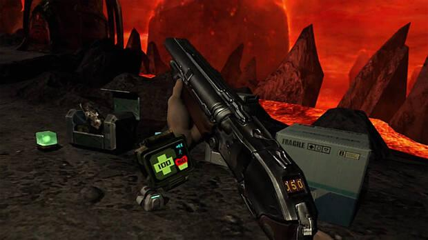 Captura de DOOM 3: VR Edition.