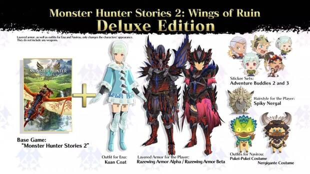 Deluxe Edition de Monster Hunter Stories 2: Wings of Ruin.