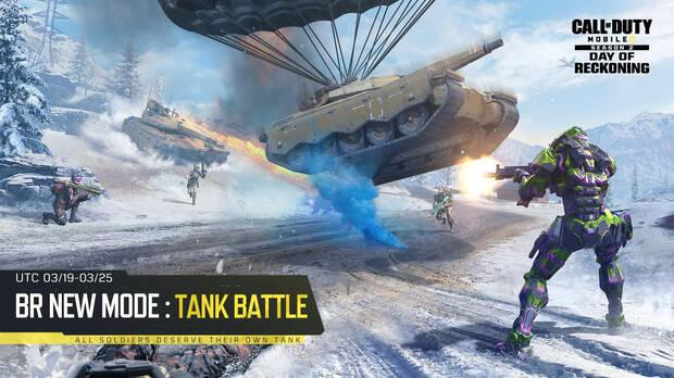 Call of Duty Mobile y Tank Battle
