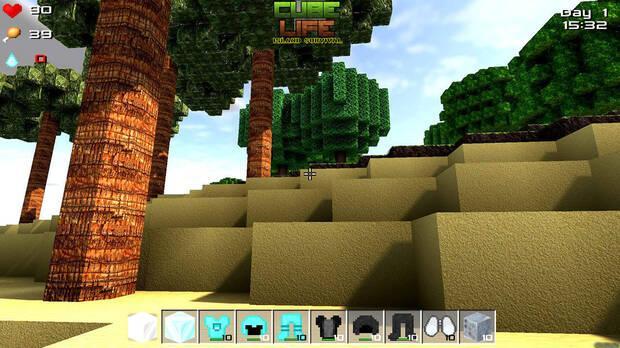 Cube Life: Island Survival Imagen 1