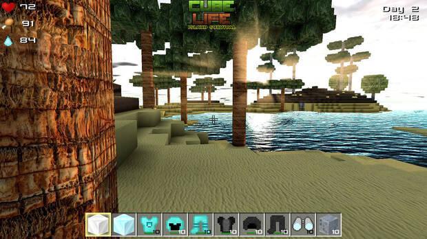 Cube Life: Island Survival Imagen 2