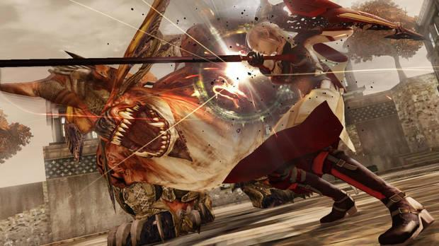 Captura de Lightning Returns: Final Fantasy XIII.