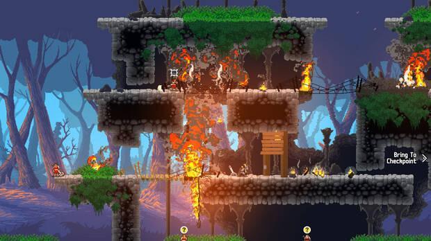 Captura de Wildfire, que saldr