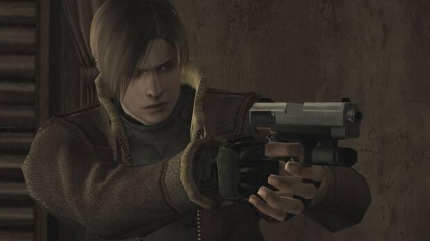 Leon dans Resident Evil 4.