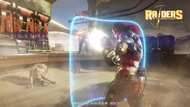 Raiders of the Broken Planet Imagen 1