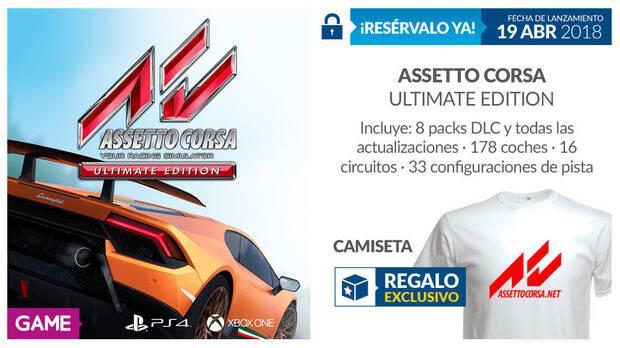 GAME detalla su incentivo por reserva para Assetto Corsa Ultimate Edition Imagen 2