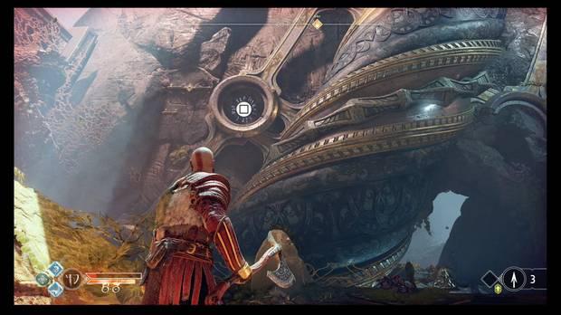 God of War - La luz de Alfheim - Que Atreus lea las runas