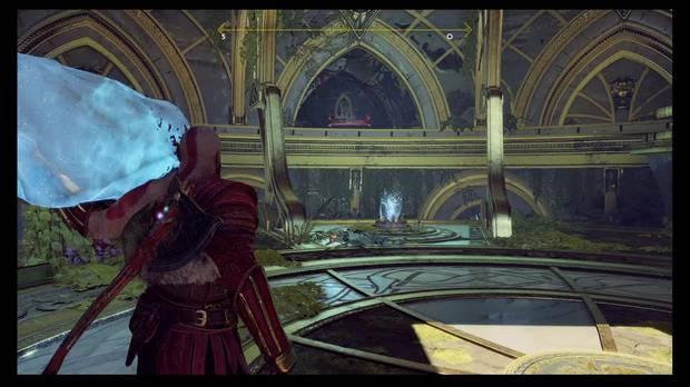 God of War - La luz de Alfheim - Puedes llegar al cofre con el cristal