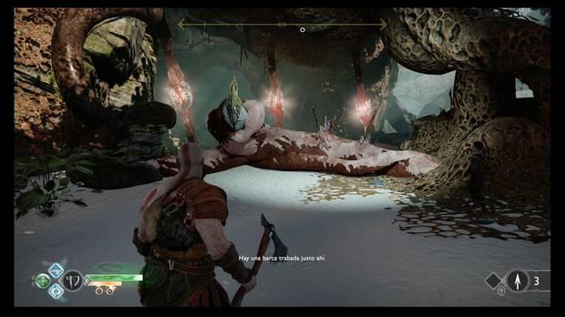 God of War - La luz de Alfheim - Debes liberar la barca