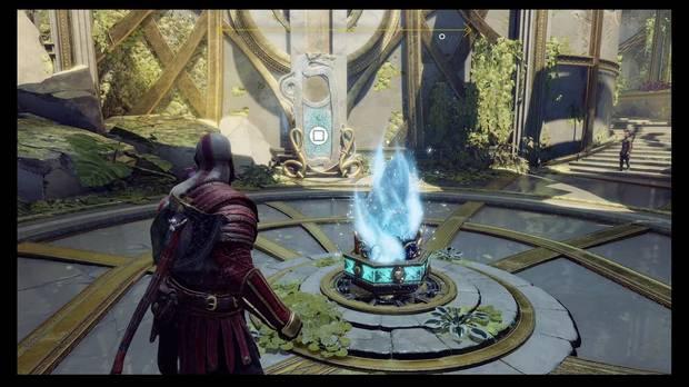 God of War - La luz de Alfheim - Activa el cristal para leer runas