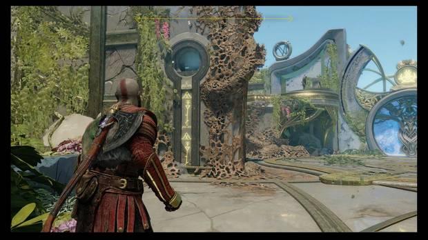 God of War - La luz de Alfheim - Aupa a Atreus por aquí