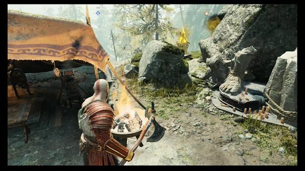 God of War - La luz de Alfheim - Congela el venenosas