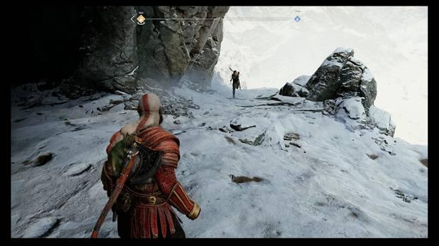 God of War - Dentro de la montaña - Por ahí puedes bajar