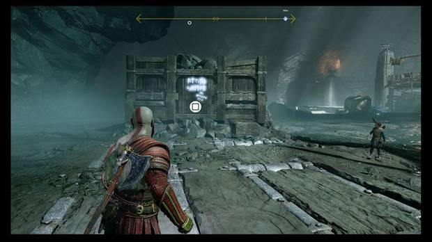 God of War - Dentro de la montaña - Lee las runas