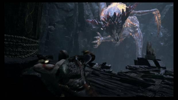 God of War - Dentro de la montaña - No podrás derrotarlo aún
