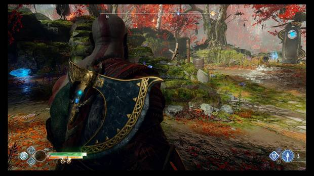 God of War - Un nuevo destino - Hay un cristal tras el pozo