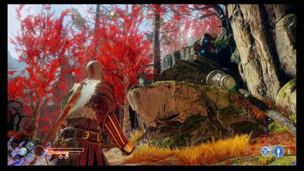God of War - Un nuevo destino - Un cuervo y unas palas con sellos