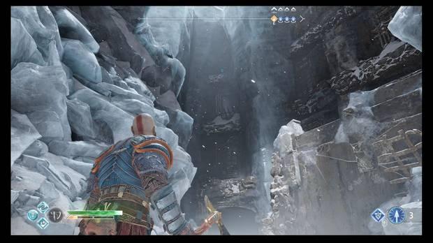 God of War - Detrás de la cerradura - El primer sello está ahí arriba