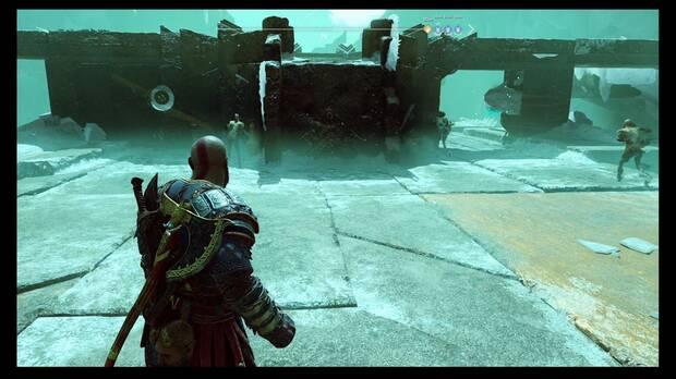 God of War - La enfermedad - Quieres abrir la puerta de la izquierda