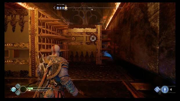 God of War - La runa negra - Congela el mecanismo