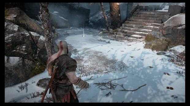 Objetos perdidos 2 - Los árboles marcados - God of War