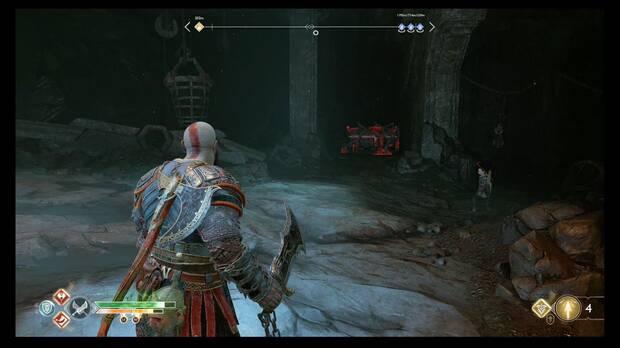 God of War - Vuelve a la cumbre - No te dejes el cofre