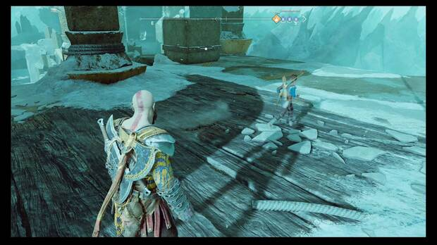 God of War - La fuga de Helheim - Empuja el bloque