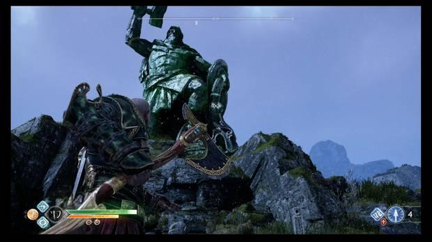 God of War, Favores, Espíritus extraviados, La caída del martillo